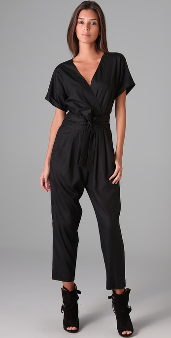 Graham & Spencer Short Sleeve Jumpsuit