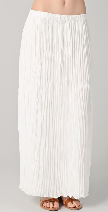Graham & Spencer Pleated Maxi Skirt