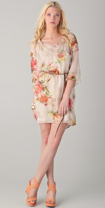 Graham & Spencer Vintage Floral Tunic Dress