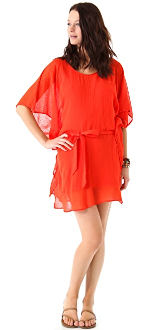 Graham & Spencer Cheesecloth Dress