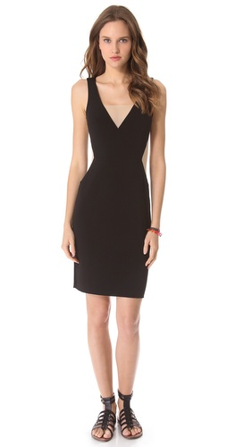 Graham & Spencer Deep V Dress