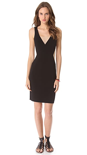 Graham & Spencer Deep V Dress