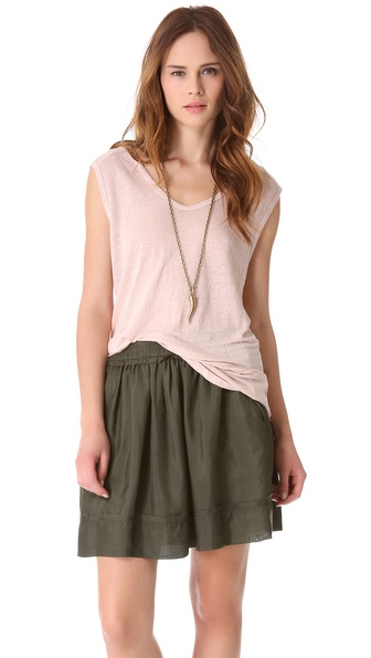 Graham & Spencer Linen Tank