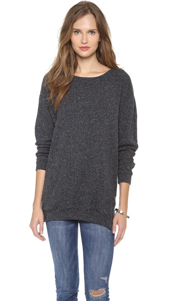 Graham & Spencer Oversized Zip Sweater