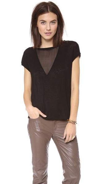 Graham & Spencer Autumn Gauze Top