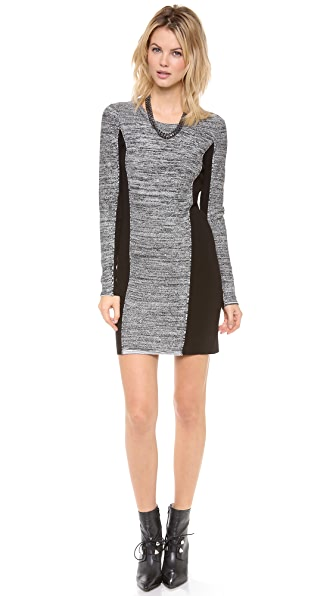 Graham & Spencer Body Con Long Sleeve Dress