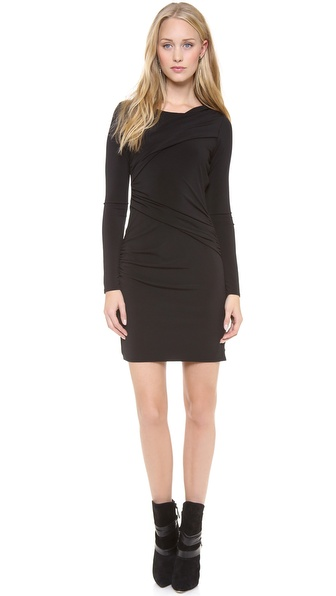 Graham & Spencer Stretch Jersey Long Sleeve Dress