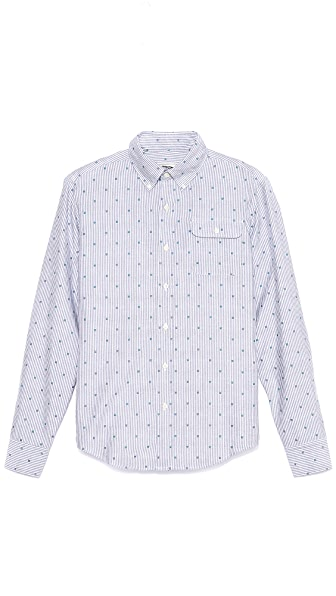 Gant by Michael Bastian MB Striped Oxford Shirt