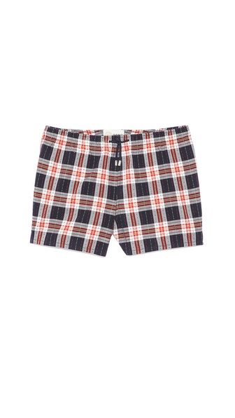 Gant by Michael Bastian The MB Static Check Swim Shorts
