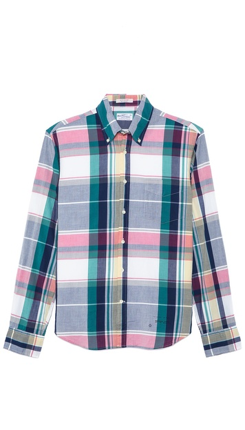 Gant Rugger Madras Sport Shirt