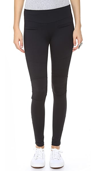 Garbe Luxe Moto Leggings