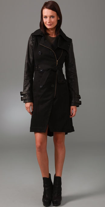 GAR-DE Strickland Trench Coat