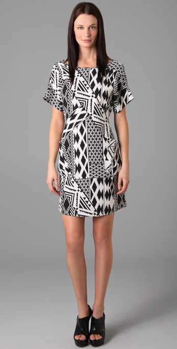 GAR-DE Taklamakan Print Dress