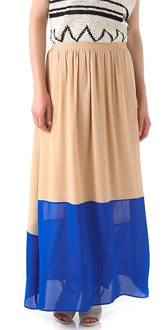 GAR-DE Galapagos Maxi Skirt