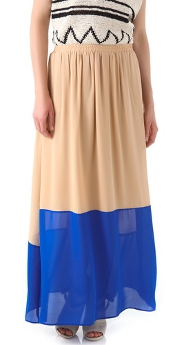 GAR-DE Galapagos Maxi Skirt