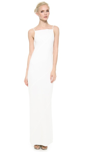 Gareth Pugh Seamed Column Gown