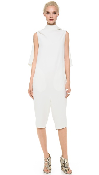 Gareth Pugh Open Back Crop Jumpsuit