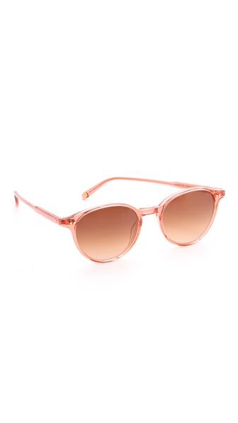 GARRETT LEIGHT Pacific Bottle Sunglasses