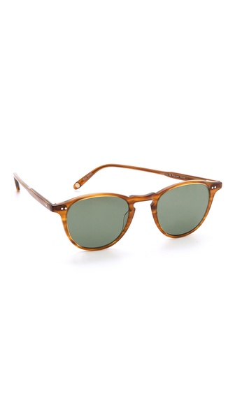 GARRETT LEIGHT Hampton Polar Sunglasses
