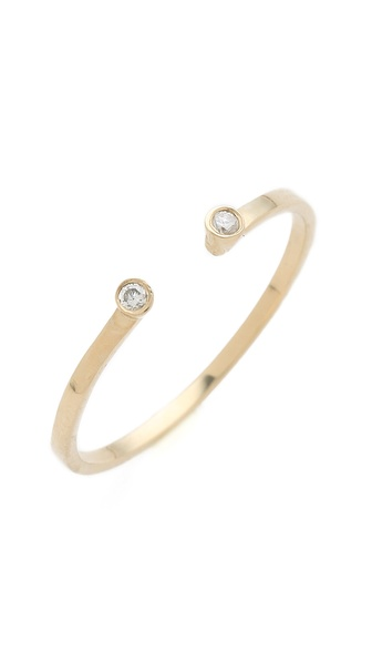 Gabriela Artigas Double Diamond Ring