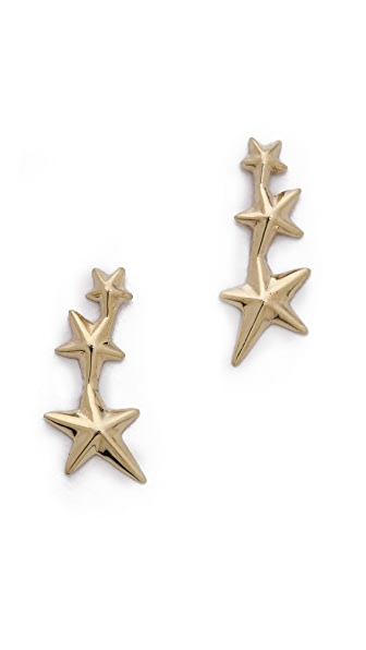 Gabriela Artigas Triple Shooting Star Earrings