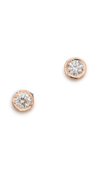 Gabriela Artigas Bezel Stud Earrings