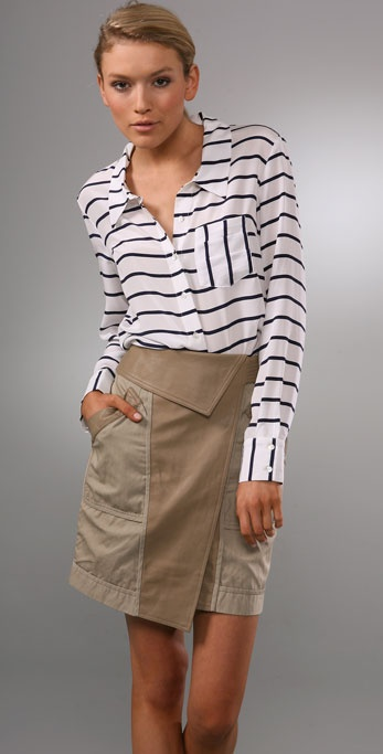 Gemma Stripe Blouse