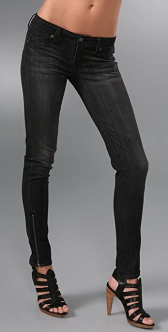 Genetic Los Angeles James Zipper Skinny Jeans