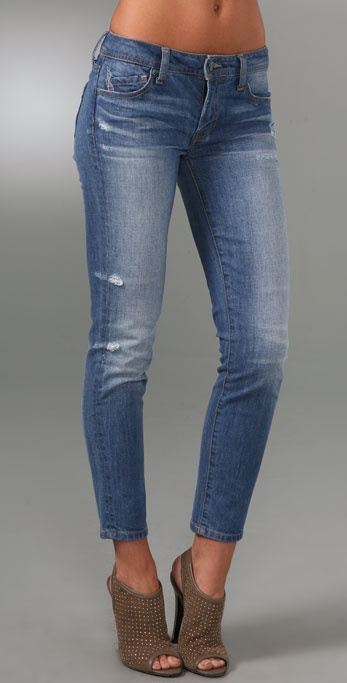 Genetic Bardot Cigarette Ankle Jeans
