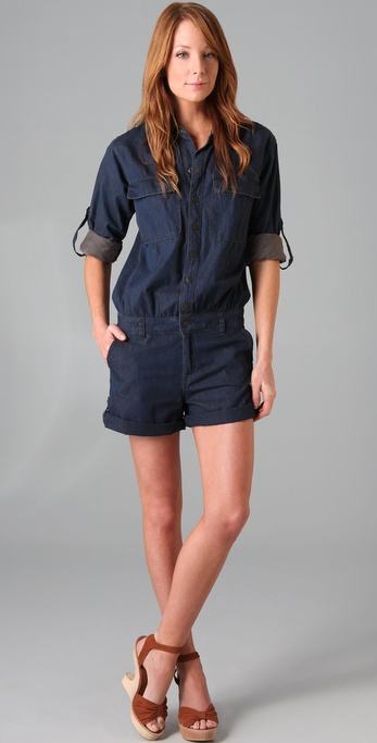 Genetic Denim The Scooter Romper
