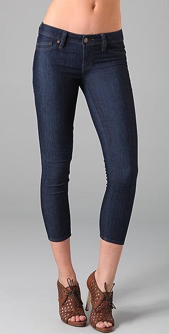 Genetic Los Angeles The Shane Crop Cigarette Jeans