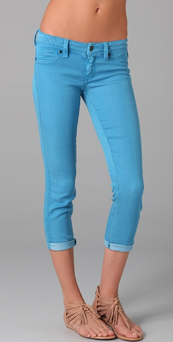 Genetic The Shya Cropped Cigarette Jeans