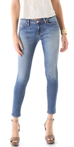 Genetic Denim Raquel Crop Cigarette Jeans