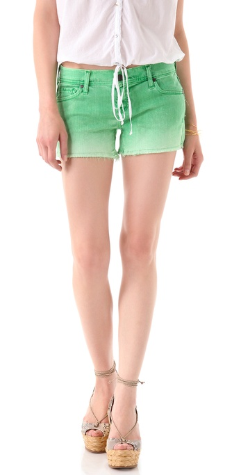 Genetic Los Angeles Ivy Cutoff Shorts