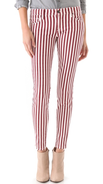 Genetic Shya Striped Cigarette Jeans