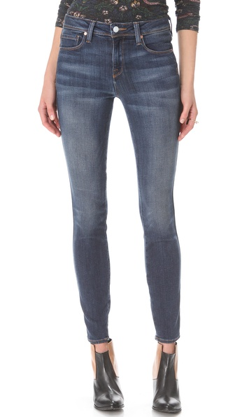 Genetic Denim Slim High Rise Cigarette Jeans