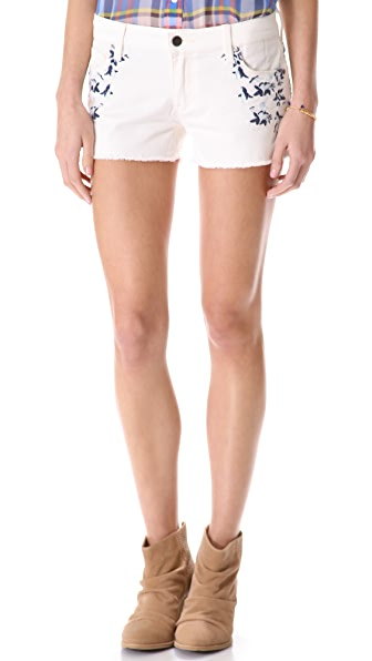 Genetic Los Angeles The Ivy Cutoff Shorts