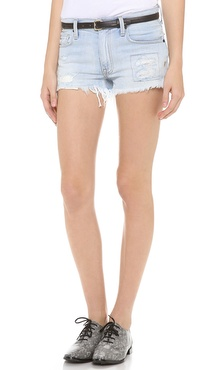 Genetic Denim Steve Distressed Shorts