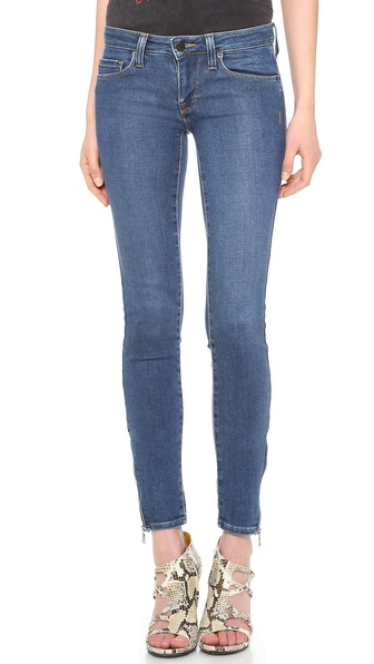 Genetic James Zipper Skinny Jeans