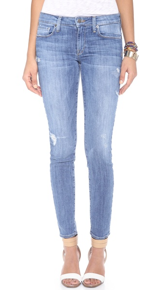 Genetic Los Angeles Stem Mid-Rise Skinny Jeans