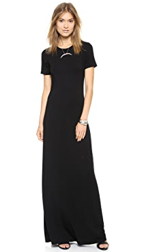 GETTING BACK TO SQUARE ONE T-Shirt Maxi Dress