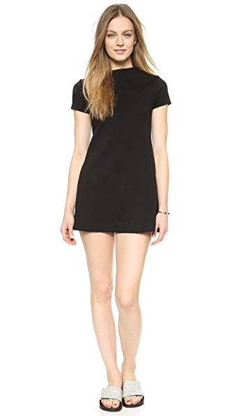 Shop GETTING BACK TO SQUARE ONE online and buy Getting Back To Square One Boxy Dress - Black dress online