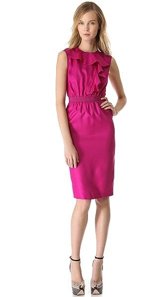 Giambattista Valli Ruffle Front Dress