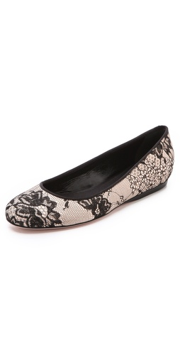 Giambattista Valli Lace Ballet Flats at Shopbop / East Dane