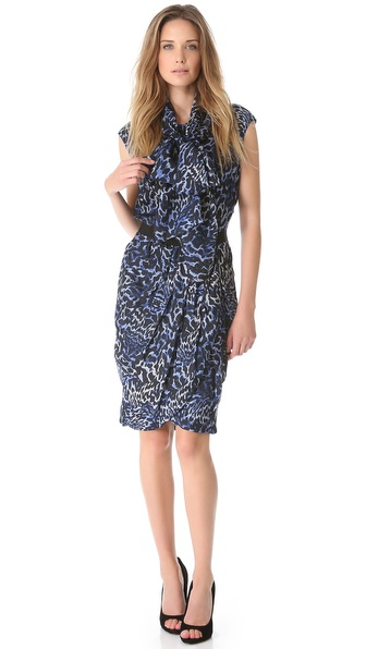 Giambattista Valli Sleeveless Printed Dress