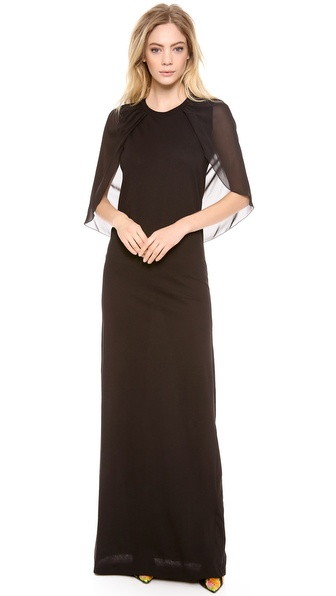 Giambattista Valli Cap Sleeve Gown