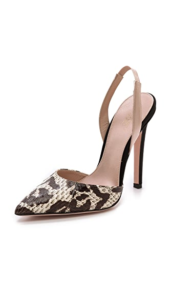 Giambattista Valli Snakeskin Pumps