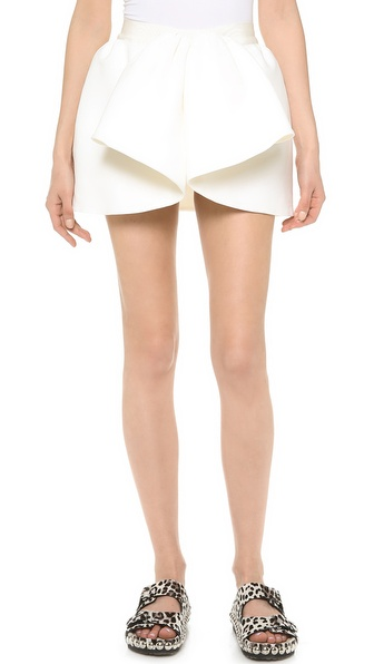 Giambattista Valli Pleated Miniskirt