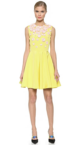 Giambattista Valli Sleeveless Dress - Yellow