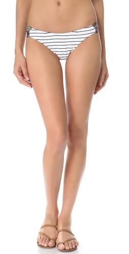 Giejo Mixed Ruched Bikini Bottoms